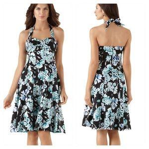 NWT! White House Black Market SUMMER BOUQUET Dress